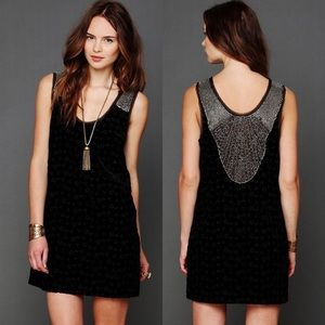 Free People Dances to Pieces Mini Dress
